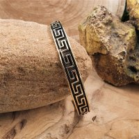 "Asatru bracelet ""SAOIRSE"" decorated with..."
