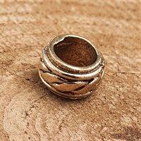 """Keltischer Knoten Bartperle """"ÁEDÁN"""" aus Bronze"""