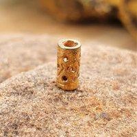 """Medieval hair and beard bead """"BRÉANAINN"""" made of bronze"""