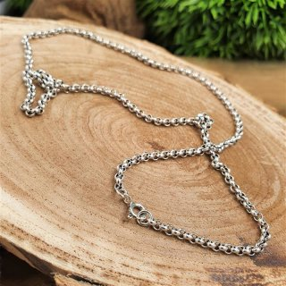 """Viking necklace """"RAGNOR"""" vintage chain - handmade from 925 sterling silver 51 cm"""