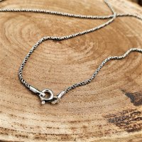 Viking necklace CYNWRIG twisted - handcrafted from 925...