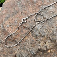"""Viking necklace """"CYNWRIG"""" twisted - handcrafted from 925 sterling silver"""