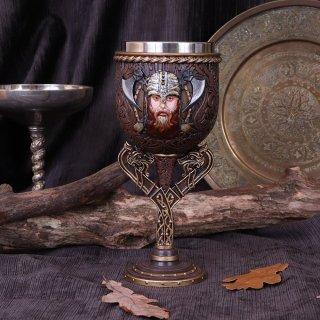 Drakkar Viking Dragon Boat Goblet - 18cm