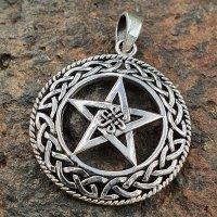 Pentagramm Anhänger mit Keltischen Knoten...