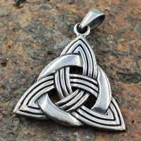Triquetra Schmuckanhänger aus 925 Sterling Silber