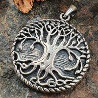 Yggdrasil Schmuckanhänger aus 925 Sterling Silber