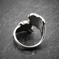 Wikinger Bärentatzen Ring aus Edelstahl