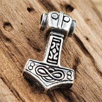 Thors Hammer Anhänger aus 925 Sterling Silber