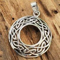 """Keltische Knoten Amulett """"HABREN"""" aus 925..."""