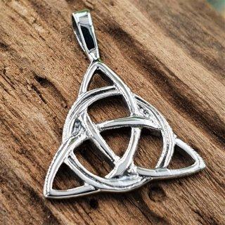 "Keltische Knoten Schmuckanhänger ""MOJA"" aus 925 Sterling Silber"