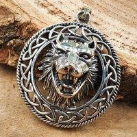 Fenris Wolf aus 925 Sterling Silber