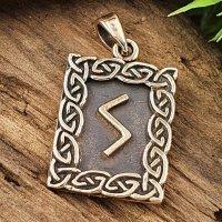 Runen Anhänger (Sowuli) aus Bronze
