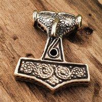 Thors Hammer Anhänger aus Bronze
