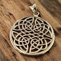 Keltische Knoten Schmuckanhänger aus Bronze