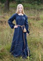 Mittelalterkleid Ana, blau
