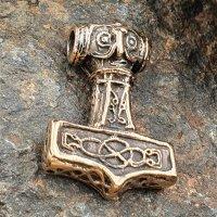 """Thors Hammer Anhänger """"SIGNE"""" aus Bronze"""
