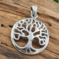 Lebensbaum Anhänger aus 925 Sterling Silber