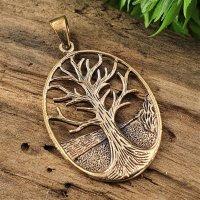 Lebensbaum Anhänger aus Bronze