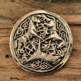 Pferde Amulett Anhänger aus Bronze