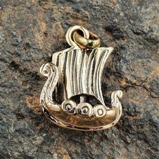 Langschiff Anhänger aus Bronze