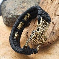 Hochwertiges Wikinger Armband aus Paracord mit...